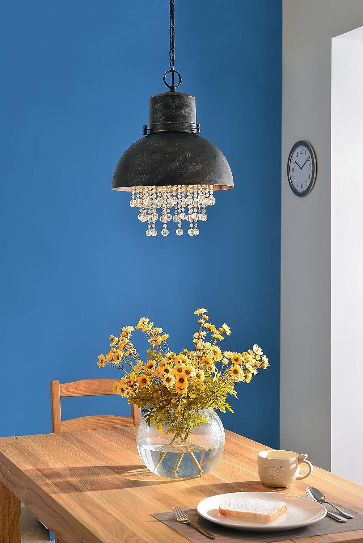 Faux Corroded Metal Lighting Partners Jax Inc Kenroy Home 93590 Nicole Pendant Light 19 Inch Height 14 Inch Diameter