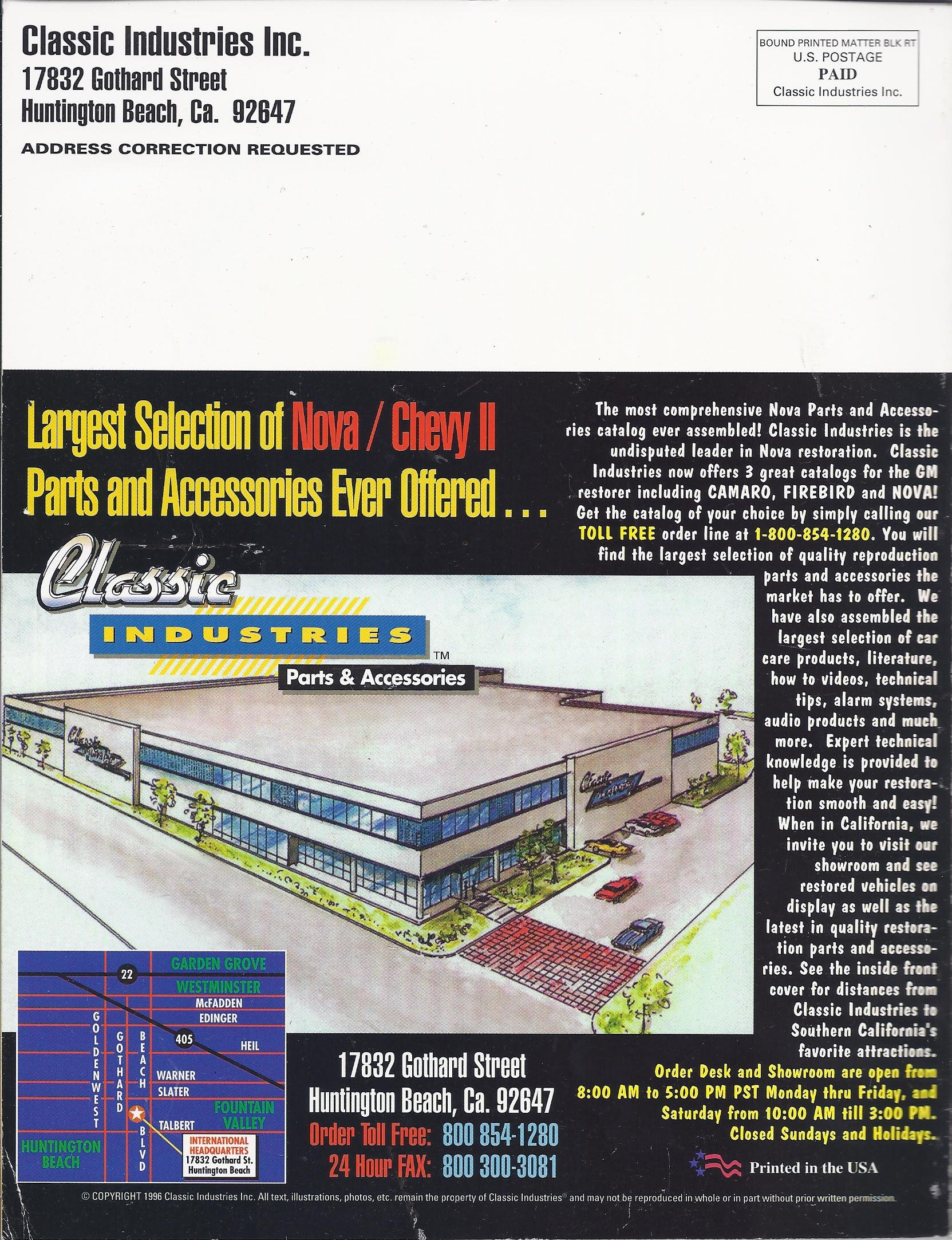 Classic Industries Nova