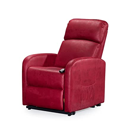 Major-Q Red Comfort Electric Leather Lift Recliner Chair (SH8084504)  sc 1 st  Amazon.com & Amazon.com: Major-Q Red Comfort Electric Leather Lift Recliner Chair ...