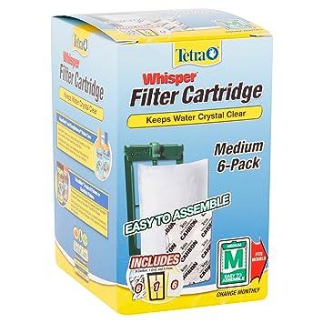 amazon com tetra whisper activated carbon aquarium tank filter