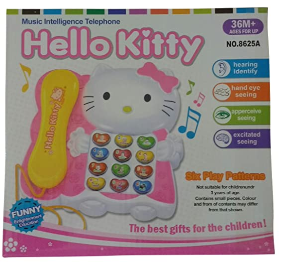 b4284397d Buy Mirth Angle Hello Kitty Toy Phone For Children And Babies Online at Low  Prices in India - Amazon.in