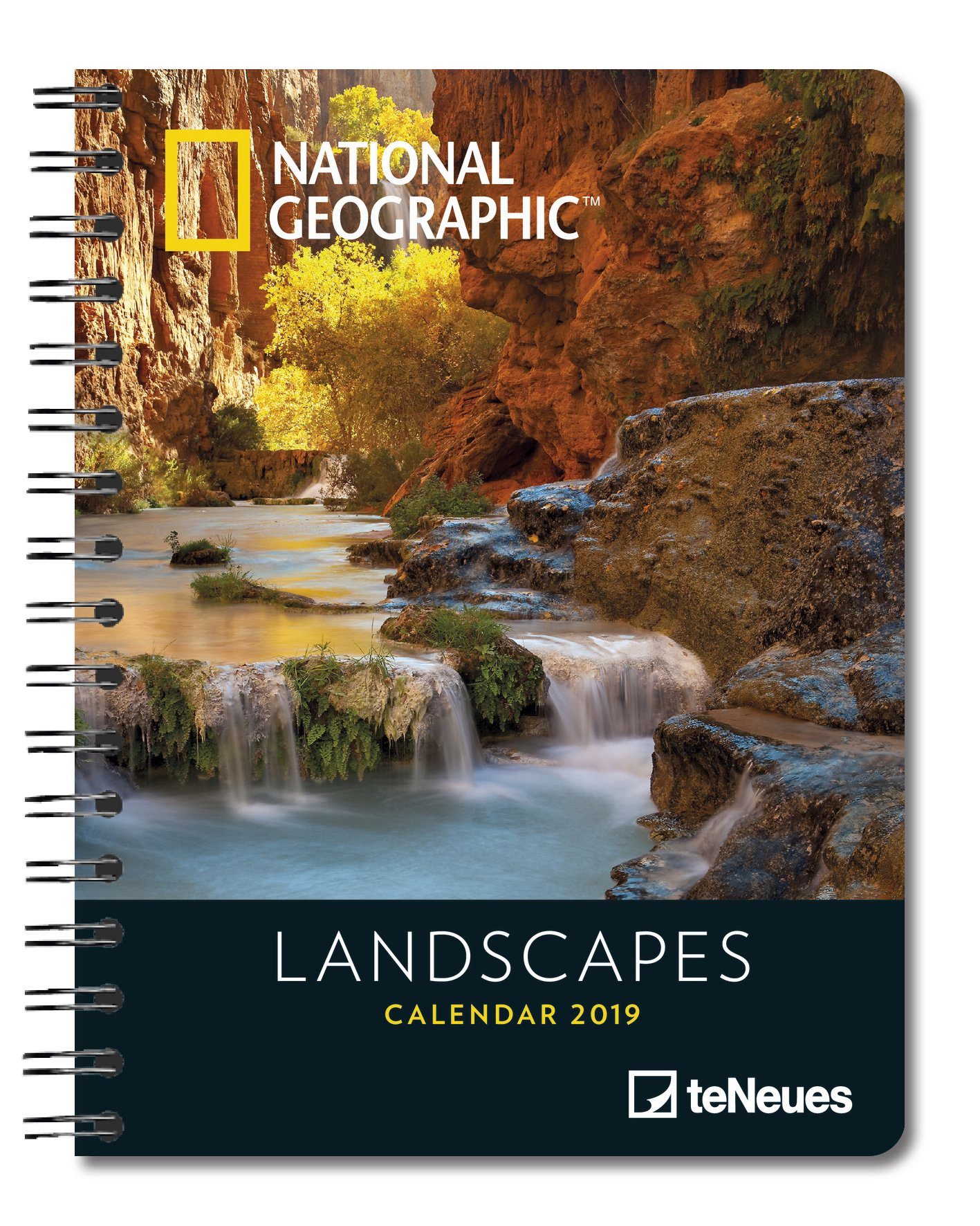 2019 Nat Geog Landscapes Deluxe Diary: Amazon.es: Libros