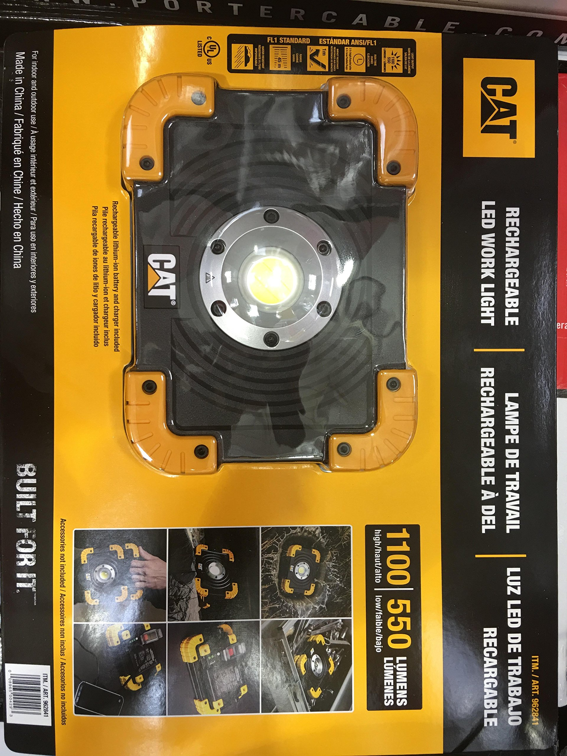 CAT rechargeable led worklight