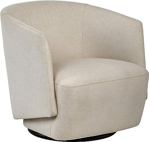 Amazon Brand Rivet Coen Modern Upholstered Accent Swivel Chair