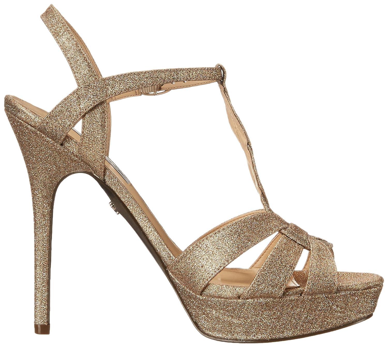 Nina Women's Marzia YF B(M) Platform Sandal B00VSCO1JA 10 B(M) YF US|Taupe 6a569a