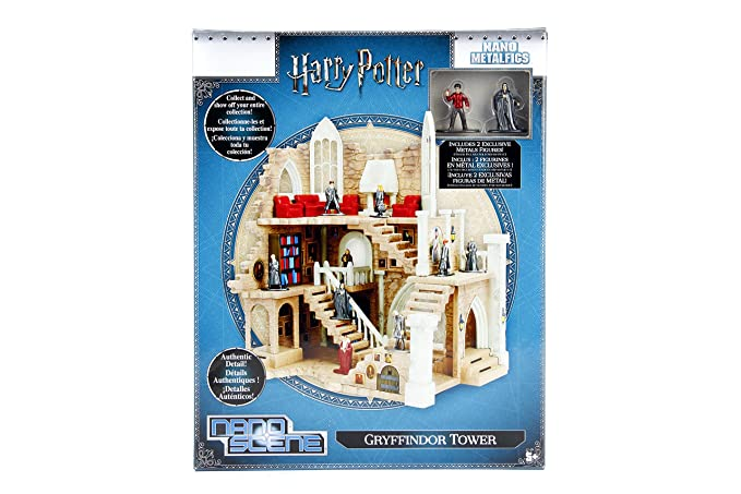 Amazon.com: Harry Potter Nano metalfigs Torre de Gryffindor ...