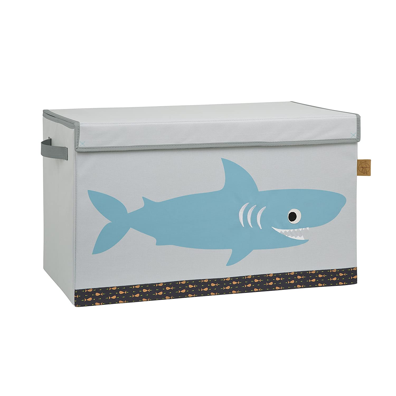 Shark ocean L/ässig Storage Toy Trunk Aufbewahrungsbox mit Deckel f/ür Kinderzimmer