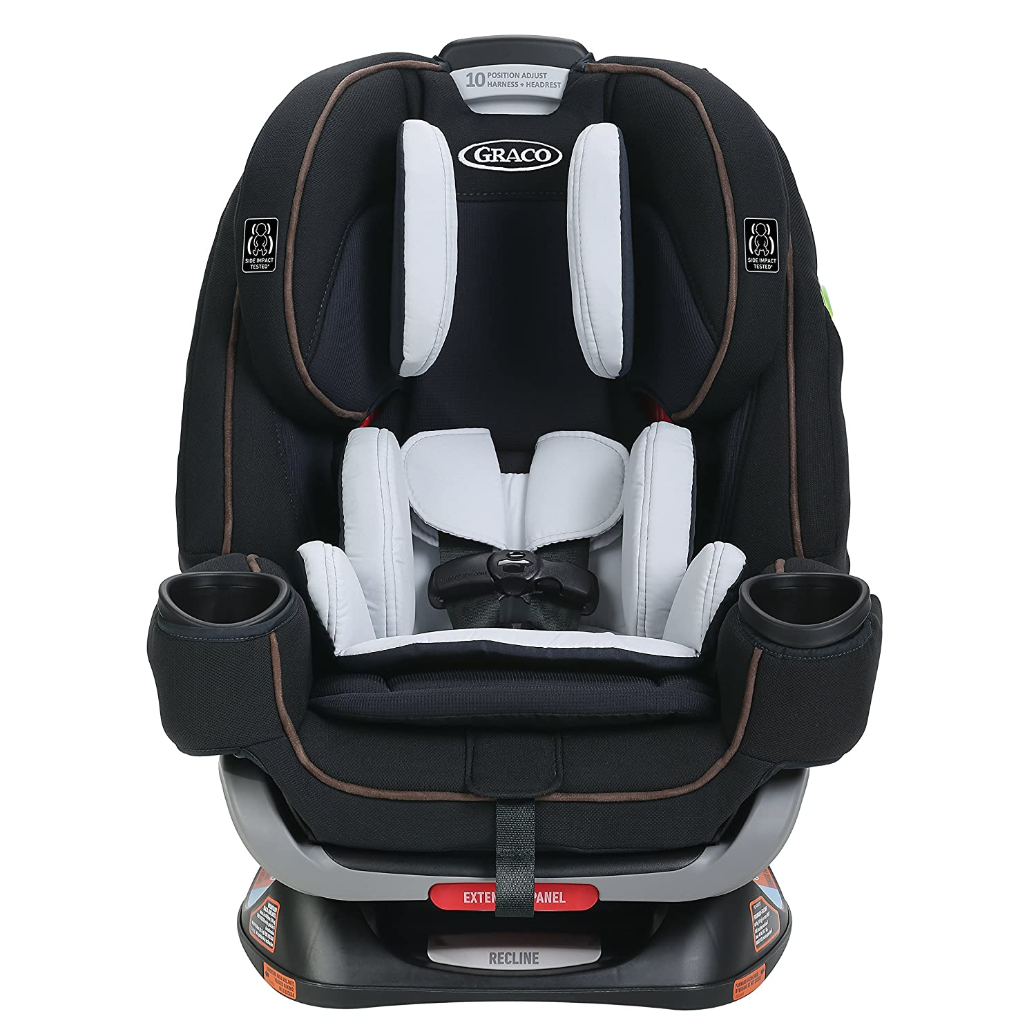 Graco 4Ever Extend2Fit All In One Convertible Car Seat Clove Size 2001871
