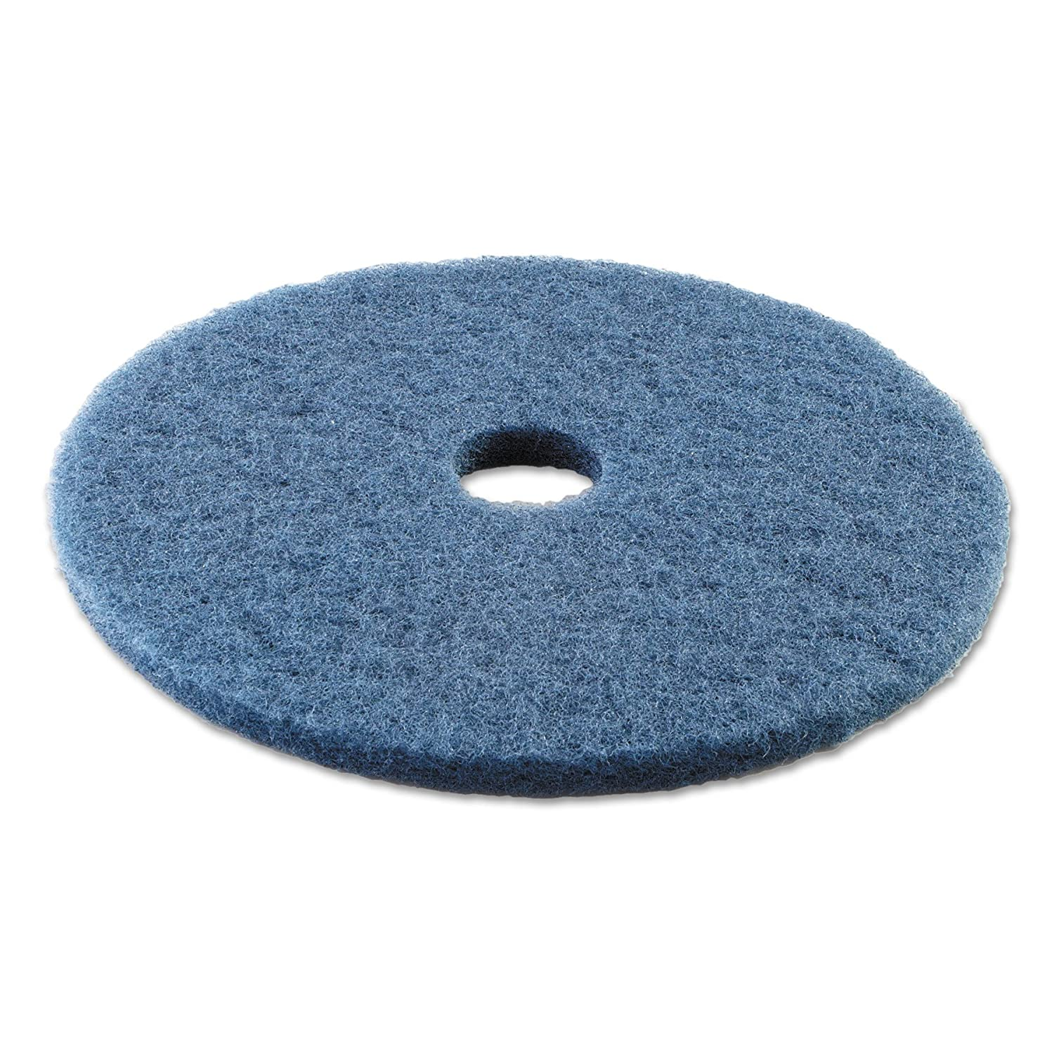 Blue Boardwalk BWK4020BLU Standard Scrubbing Floor Pads 20 Diameter Case of 5