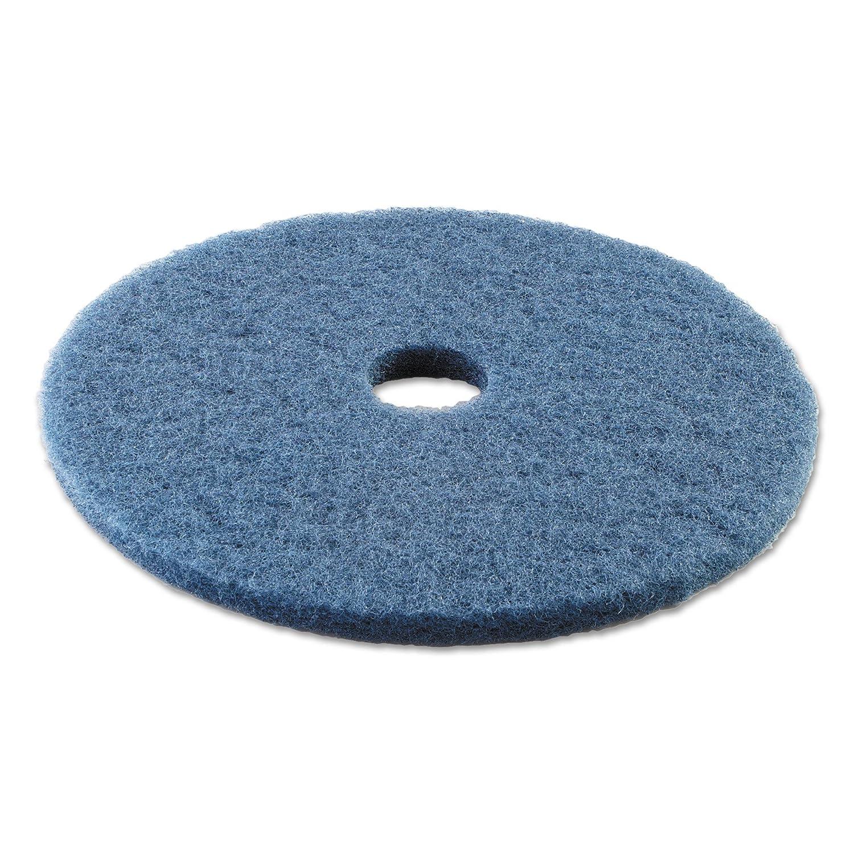 Boardwalk BWK4020BLU Standard Scrubbing Floor Pads, 20' Diameter, Blue (Case of 5) 20 Diameter