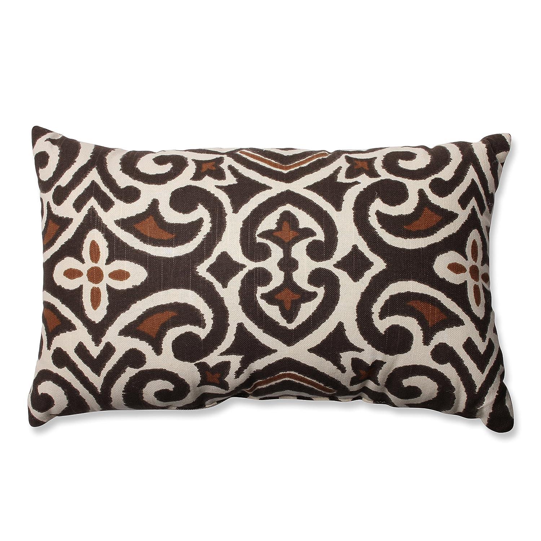 amazoncom pillow perfect brownbeige damask inch throw pillow  - amazoncom pillow perfect brownbeige damask inch throw pillow home kitchen