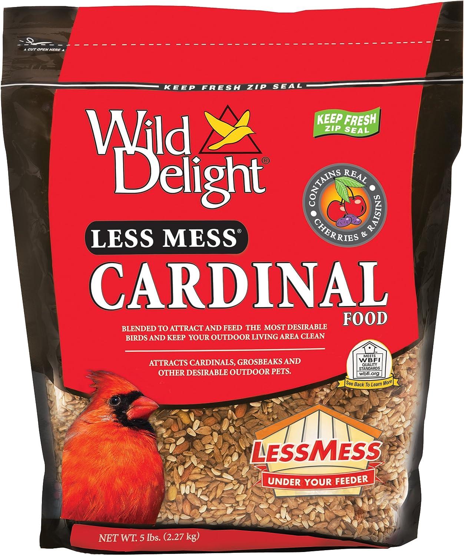 Wild Delight Less Mess Cardinal Food, 5 lb