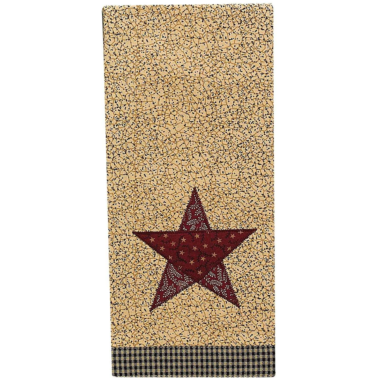 Park Designs Country Star Decorative Dishtowel