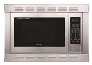 1.0 Cubic Ft, 120v Stainless Steel Home Microwave Convection Oven and Grill with Built-in Trim Kit