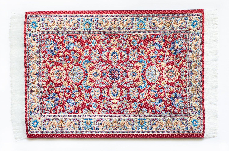 Oriental Carpet Mouse pad - Authentic Woven Carpet - RED Tabriz Design
