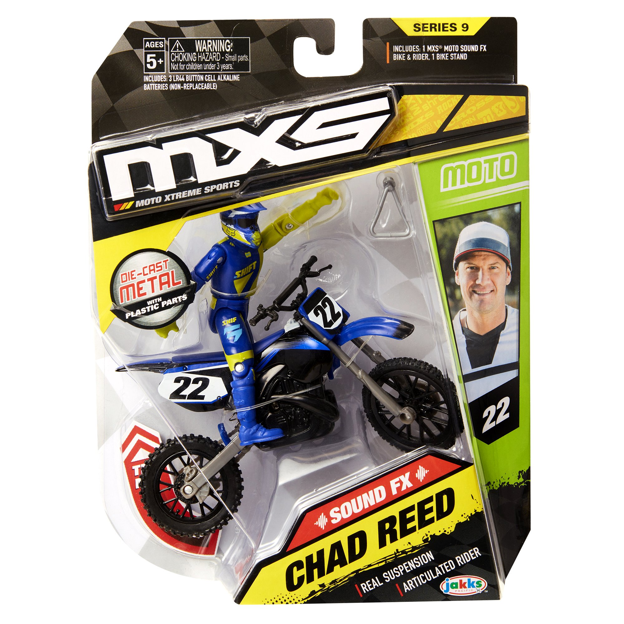 MXS Boys Chad Reed SFX Bike & Rider Set by MXS (Image #6)