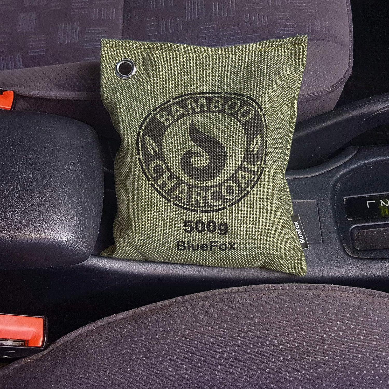 Deshumidificador con carbón activo de bambú en bolsita.Purificador de aire para eliminación de olores en habitaciones, el coche, zapatos, bolsa de ...