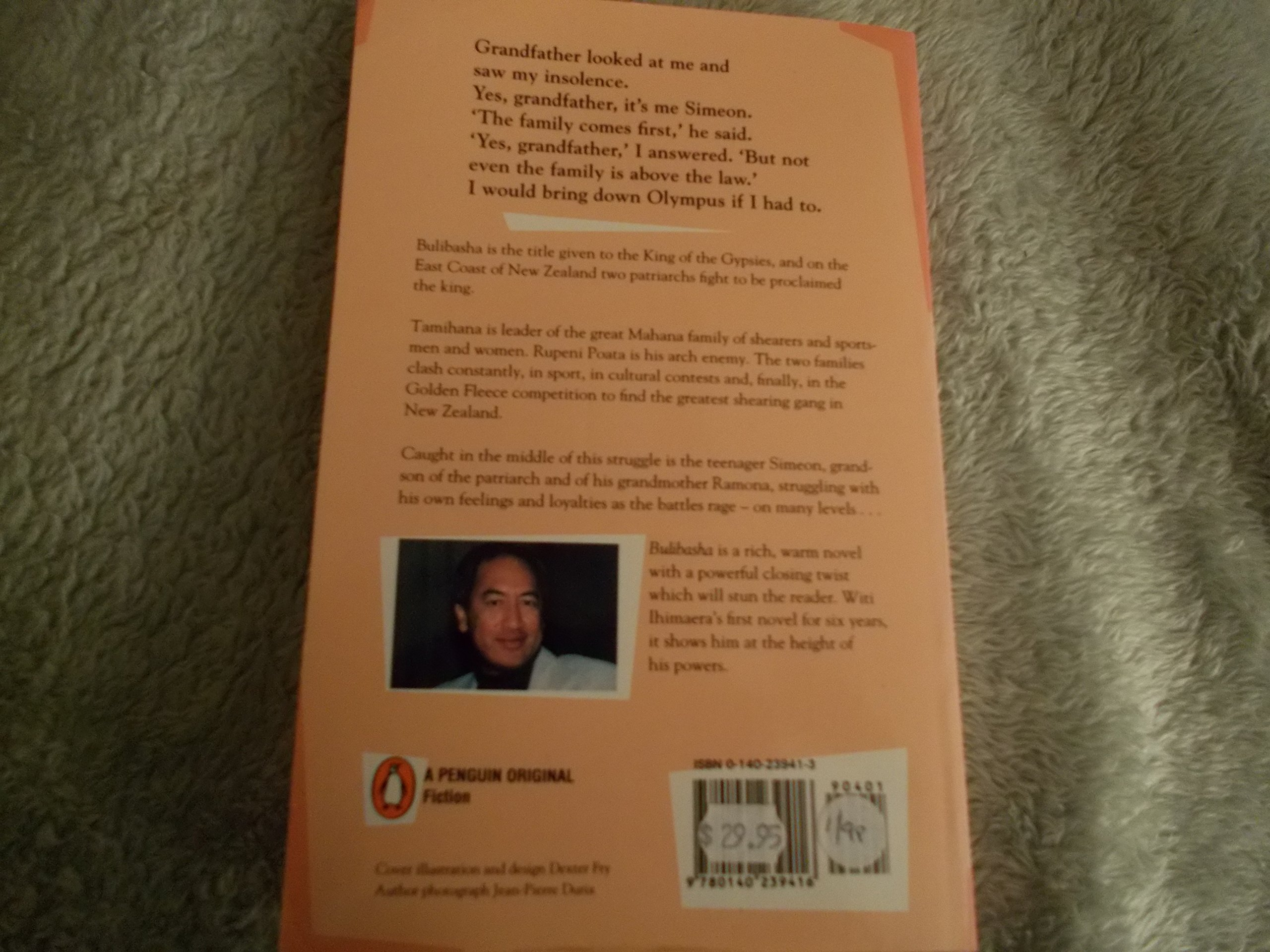 Bulibasha King Of The Gypsies: Witi Ihimaera: 9780140239416: Amazon:  Books