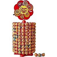 Chupa Chups Carrousel, Best of Lollipops Wheel – 200 lolly's, 7 verschillende fruitige en romige smaken, snoepdisplay…