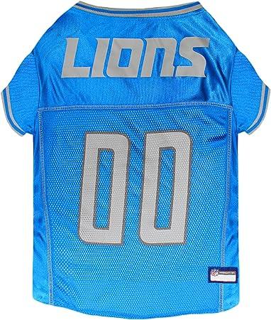 NFL Detroit Lions Pet Stretch Jersey X-Large