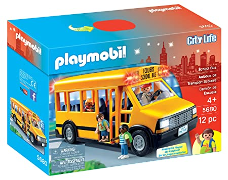 Playmobil School Bus Vehicle Playset Amazonde Spielzeug