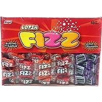 Lotsa Fizz Candy Strips - 48 Count