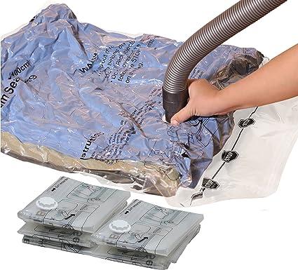 237e602ee065 Amazon.com: Simple Houseware 5 Pack - Extra Large Vacuum Storage ...