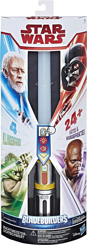 Hasbro Star Wars E2512100 Maestro de la Fuerza Espada láser