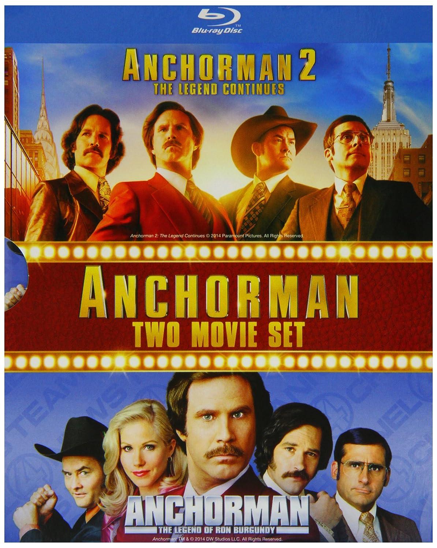 Anchorman 1&2 Blu-Ray Box Set Edizione: Regno Unito Reino ...