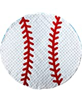 Mud Pie Baby Boy Soft Sports Minky Baseball Blanket