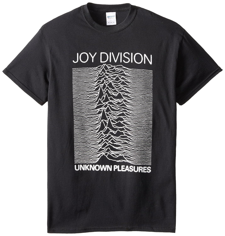 Impact Men\'s Joy Division Unknown Pleasures T-Shirt Impact Merchandising JD02
