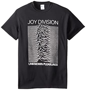 4e9ac98e Impact Men's Joy Division Unknown Pleasures T-Shirt, Black, Small