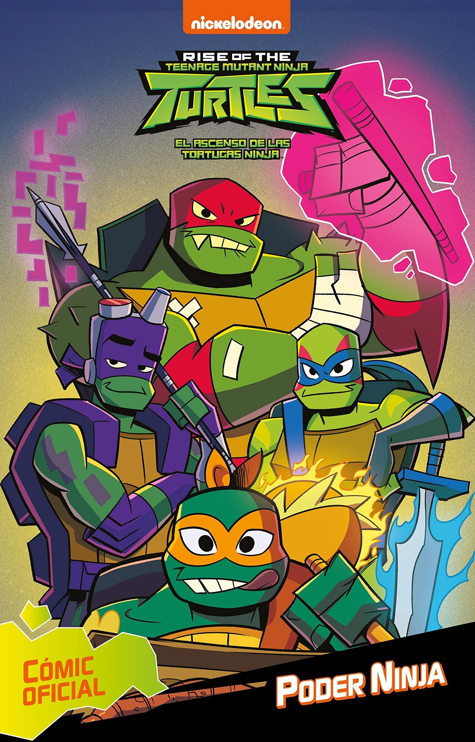 Amazon.com: Poder Ninja (Tortugas Ninja. Cómic ...