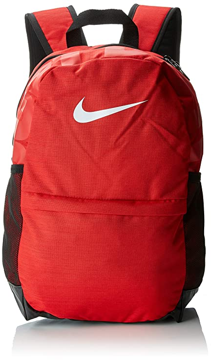 4f1b59f38c Nike 25 Ltrs University Red Black White Casual Backpack (BA5473-657)  Nike   Amazon.in  Bags