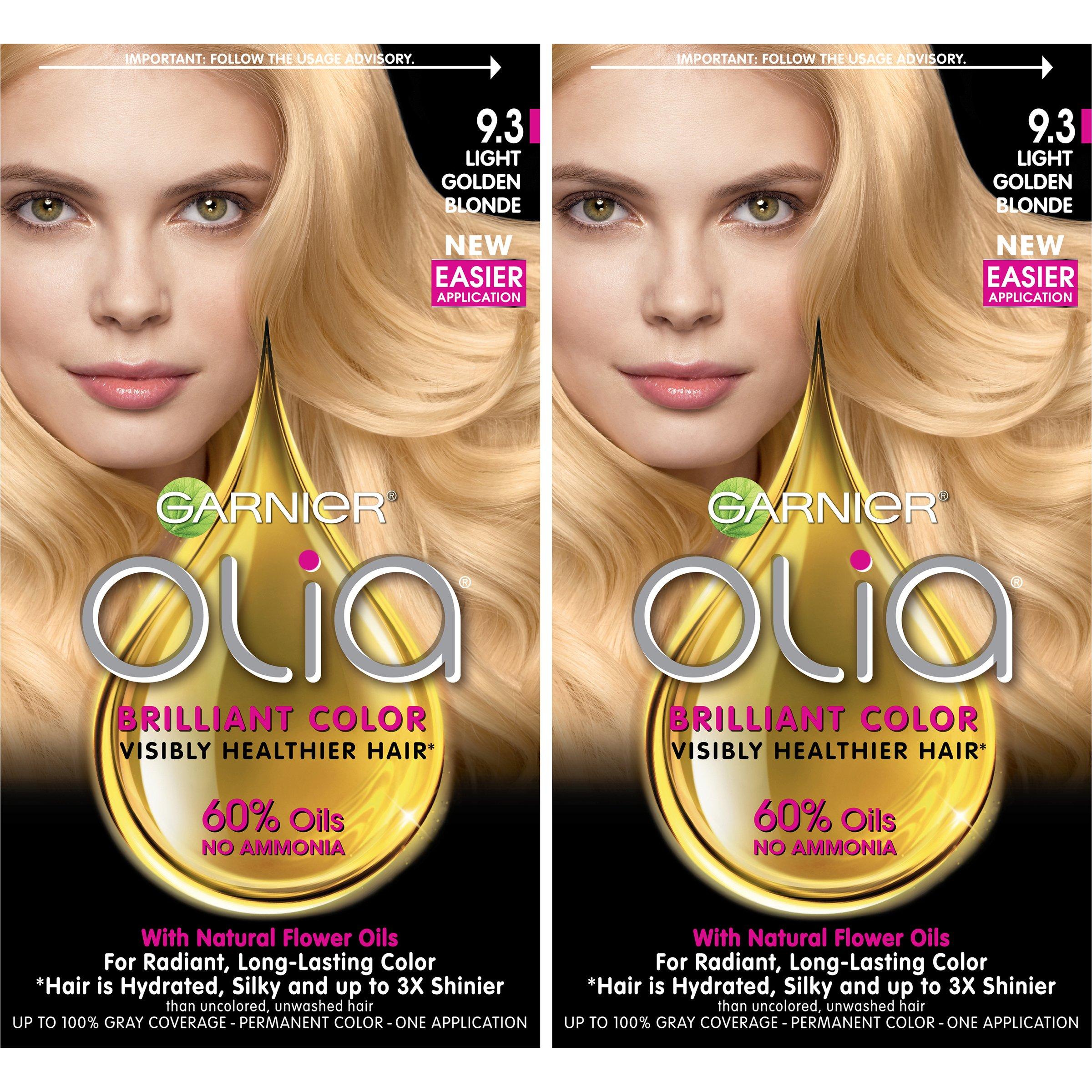 Amazon Garnier Olia Hair Color 93 Light Golden Blonde