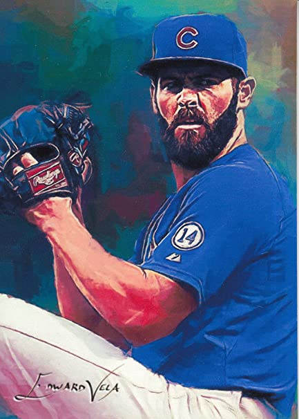 fb78a1b02dd Jake Arrieta  3 -  12 25 - VERY RARE - Chicago Cubs - WORLD SERIES ...