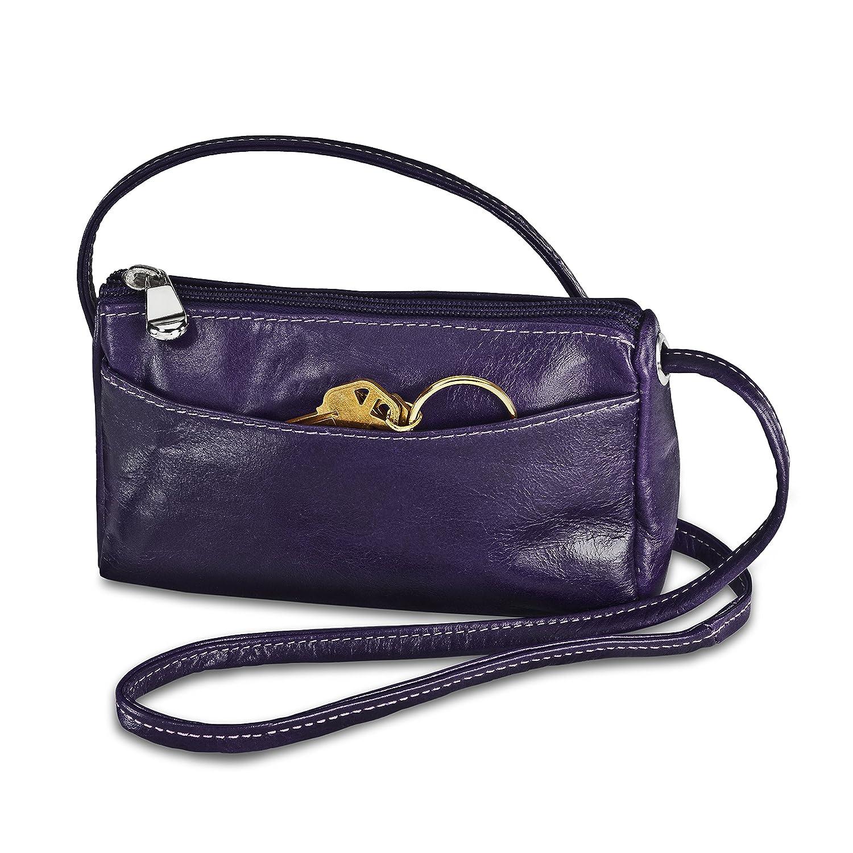 Purple One Size David King /& Co Florentine Top Zip Mini Bag 3501 Cherry