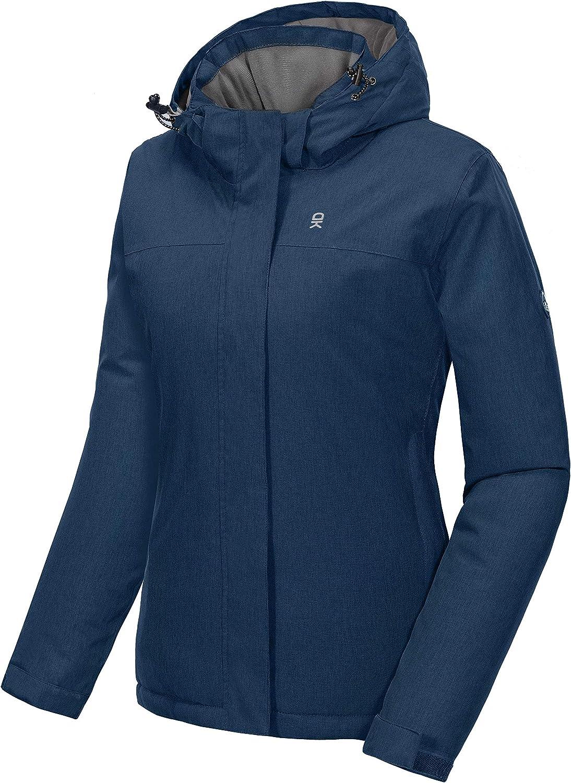 Little Donkey Andy Womens Ski Snowboarding Jacket Water Repellent Warm Winter Windproof Mountain Snow Coat