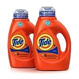 Amazon Price History for:Tide Original Scent HE Turbo Clean Liquid Laundry Detergent, 50 Fl Oz (32 Loads), 2 Count