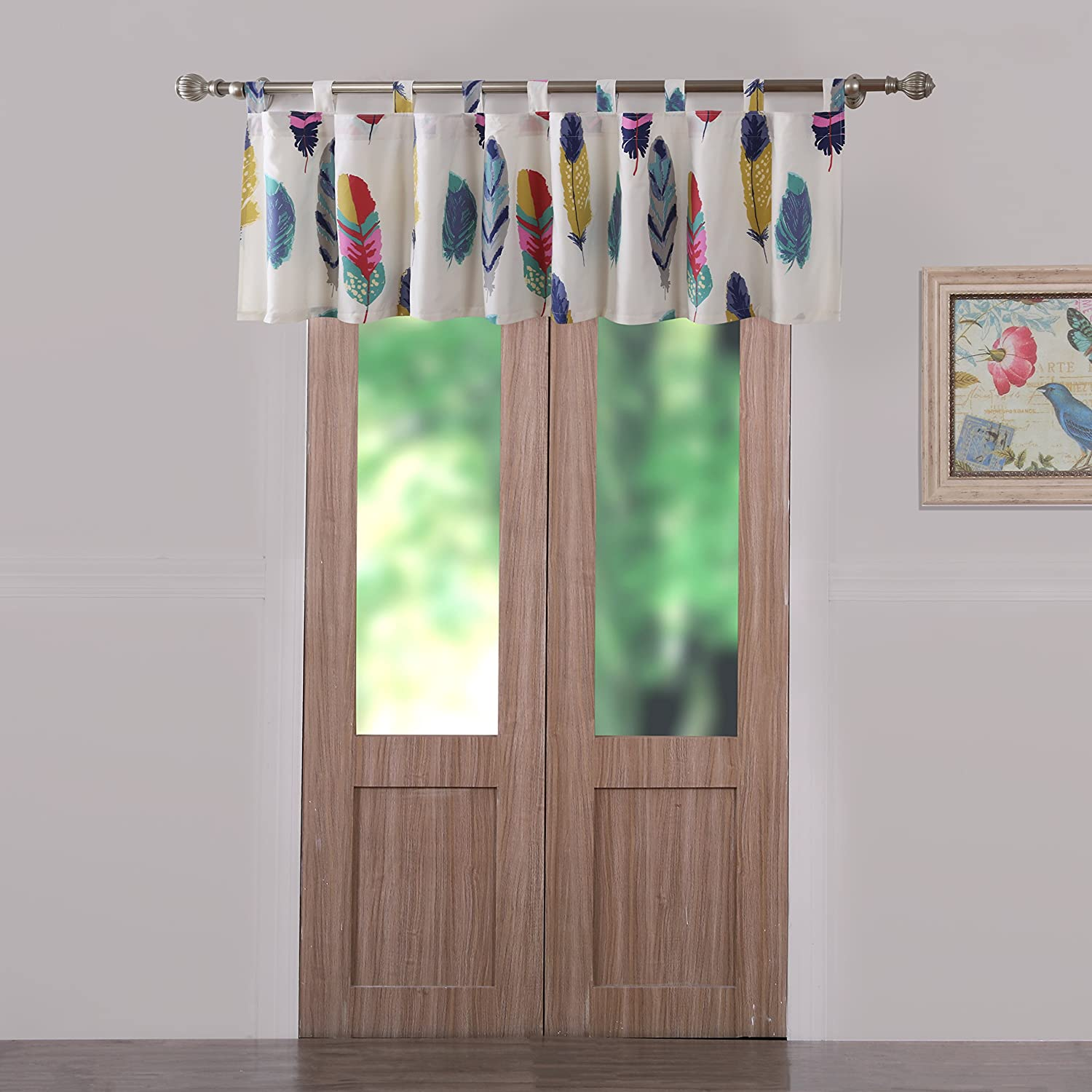 Barefoot Bungalow Dream Catcher Window Valance Greenland Home Fashions GL-1603JWV
