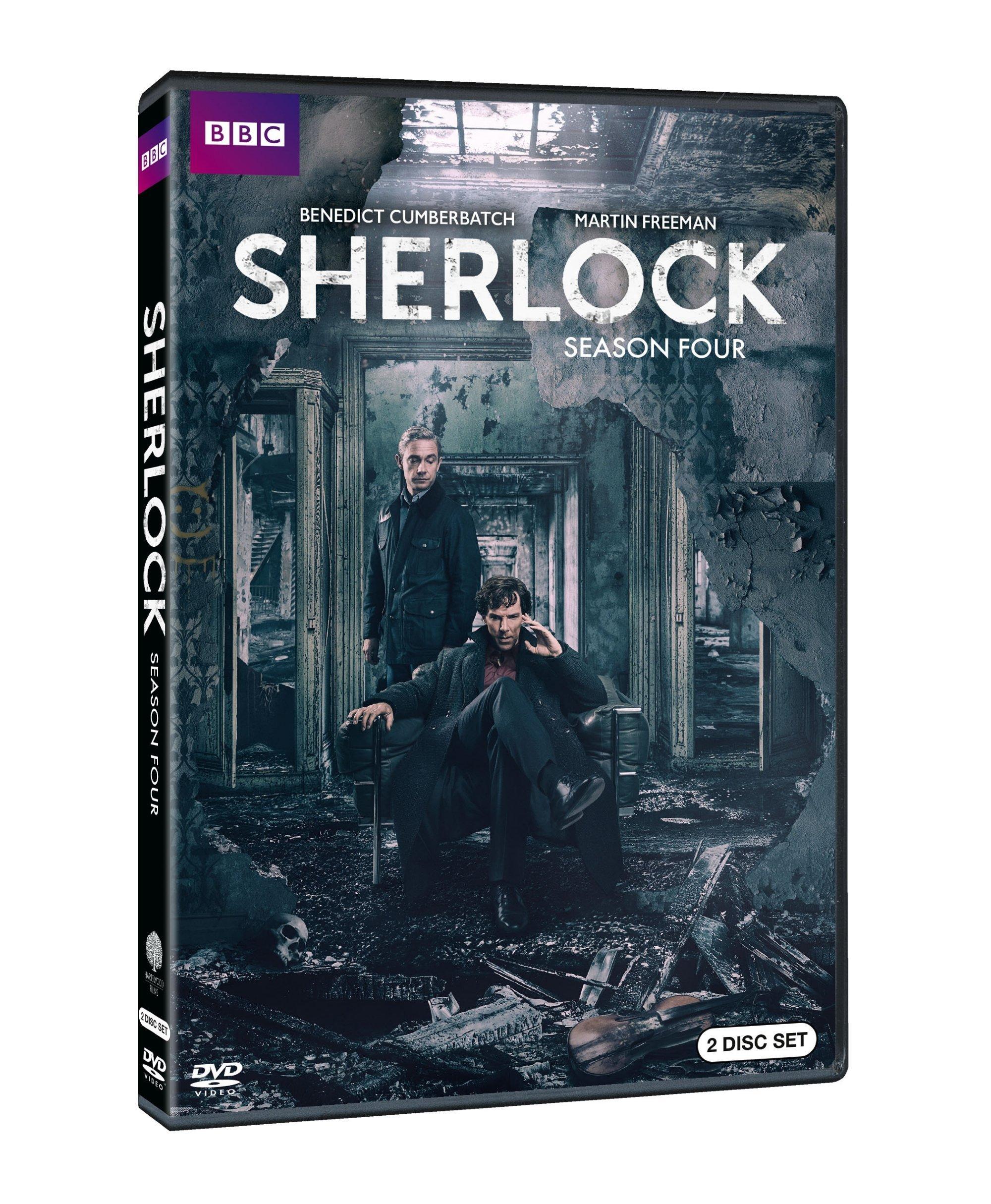 Sherlock Series Four 0883929543526