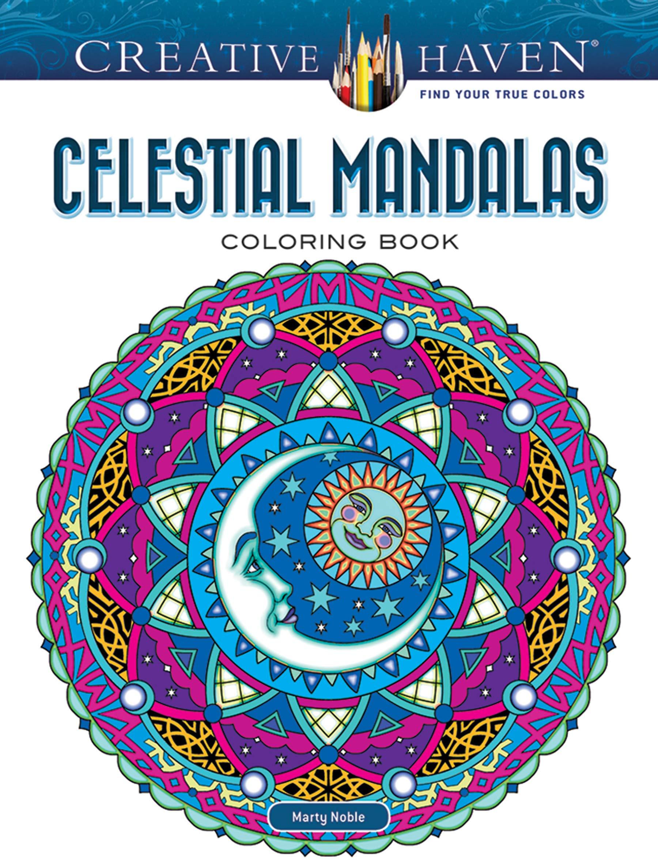 Creative Haven Celestial Mandalas Coloring Book Creative ...