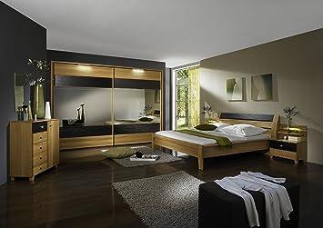 WIEMANN Schlafzimmer Kos 4-teilig mit Schwebetürenschrank ...