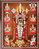 Youth Infomedia Lord Perumal With Ashtalakshmi Acrylic Photo Frame (25.4 cms x 20.32 cms)