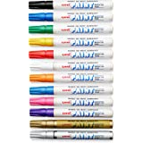 Sanford Uni-Paint Markers, Medium Point, Assorted, Dozen - 63631