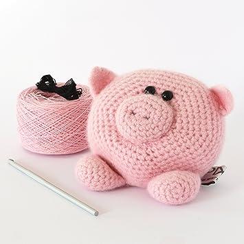 Little pig amigurumi pattern   Amiguroom Toys   355x355