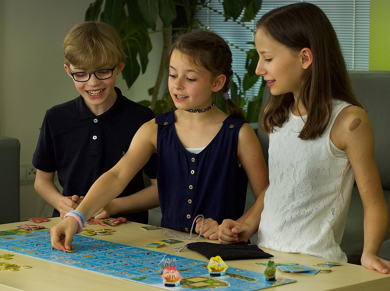 Captain Silver Board Game (4 Player): Amazon.es: Juguetes y juegos