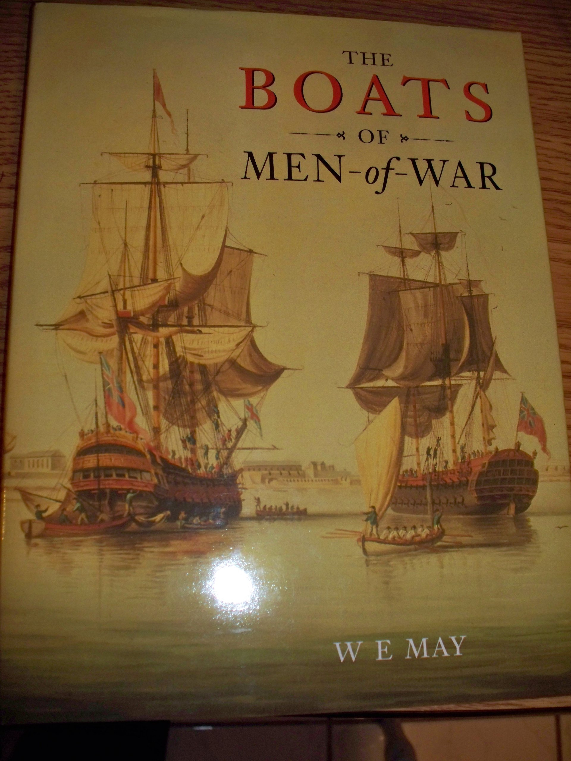 Read Online The Boats of Men-of-war (Chatham ShipShape) PDF