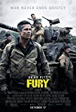 FURY MOVIE POSTER PRINT APPROX SIZE 12X8 INCHES