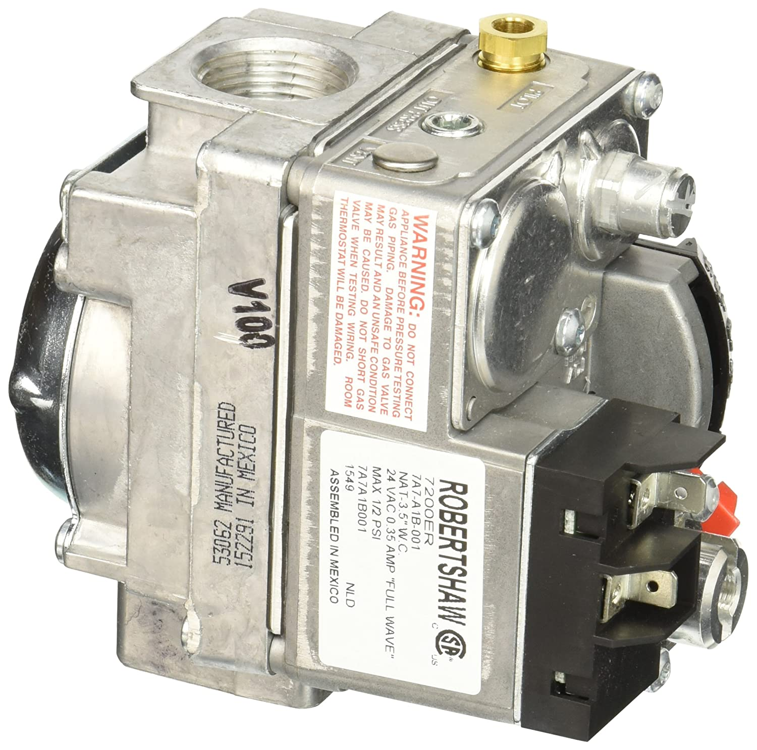 Robertshaw 720-400 Commercial Cooking Dual Gas Valve 24V ... on